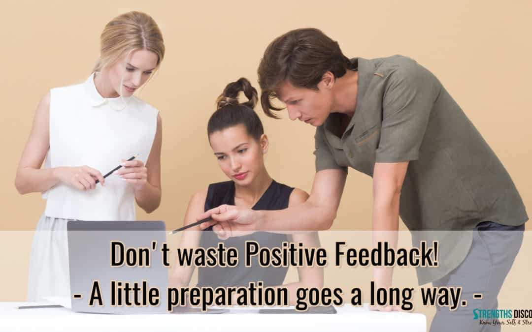 Don't be lazy – Give Specific Feedback!