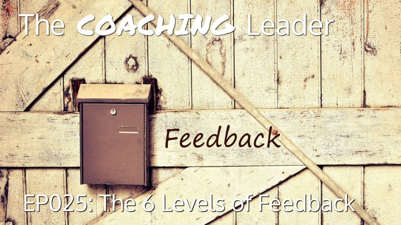 The 6 Levels of Feedback (Podcast #25)