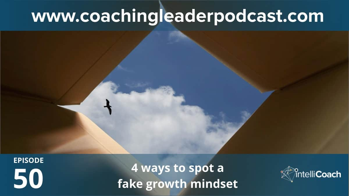 4 ways to spot a fake growth mindset (Podcast #50)