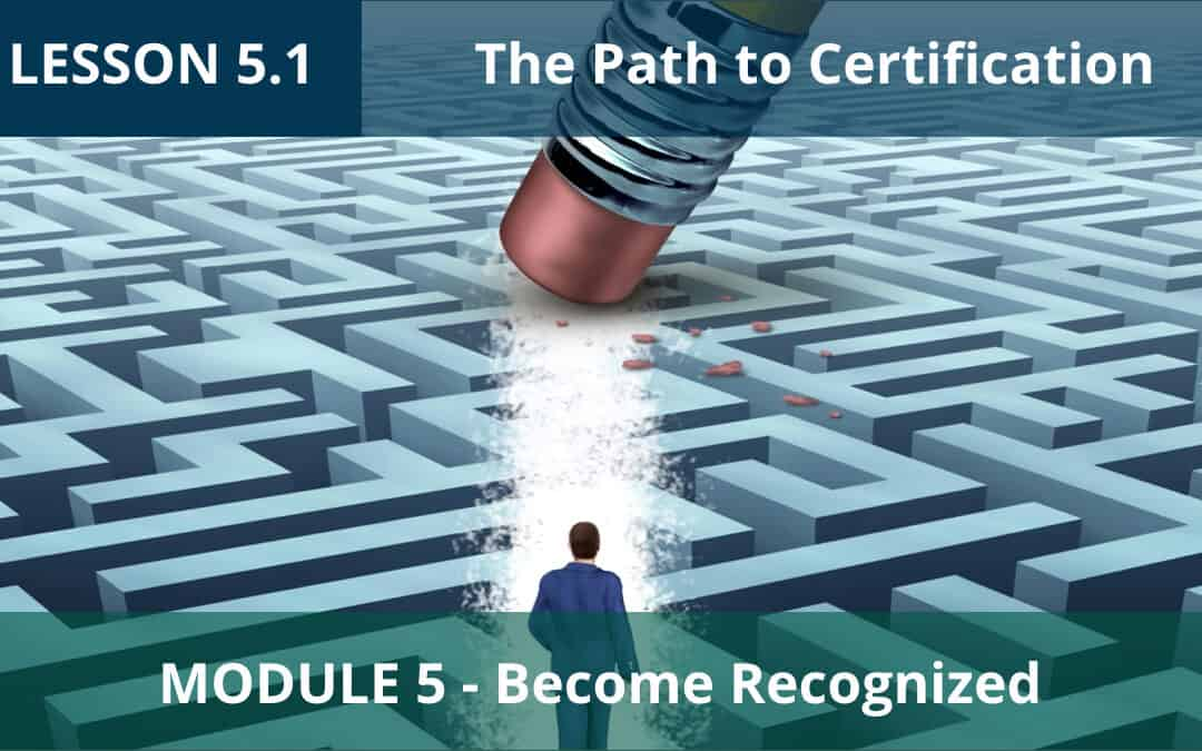 Lesson 5.1 is LIVE! Now let's get ICF-Certified!