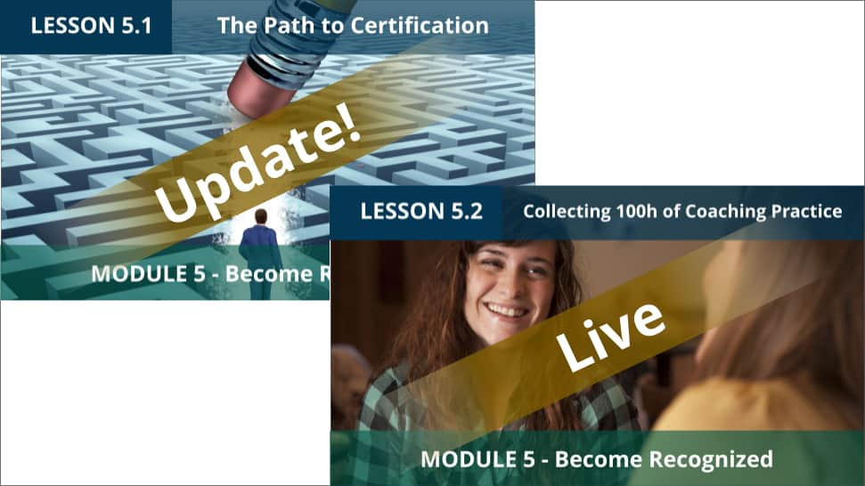 Lesson 5.2 LIVE and 5.1 Updated with extra Video